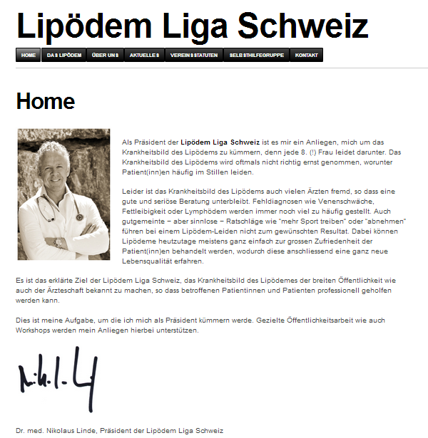 Lipödem-Liga-Schweiz